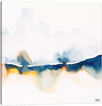 Rain on Fire Canvas Art Print