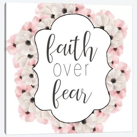Faith Over Fear Canvas Print #ABL10} by Ann Bailey Art Print