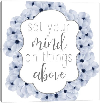 Set Your Mind Canvas Art Print