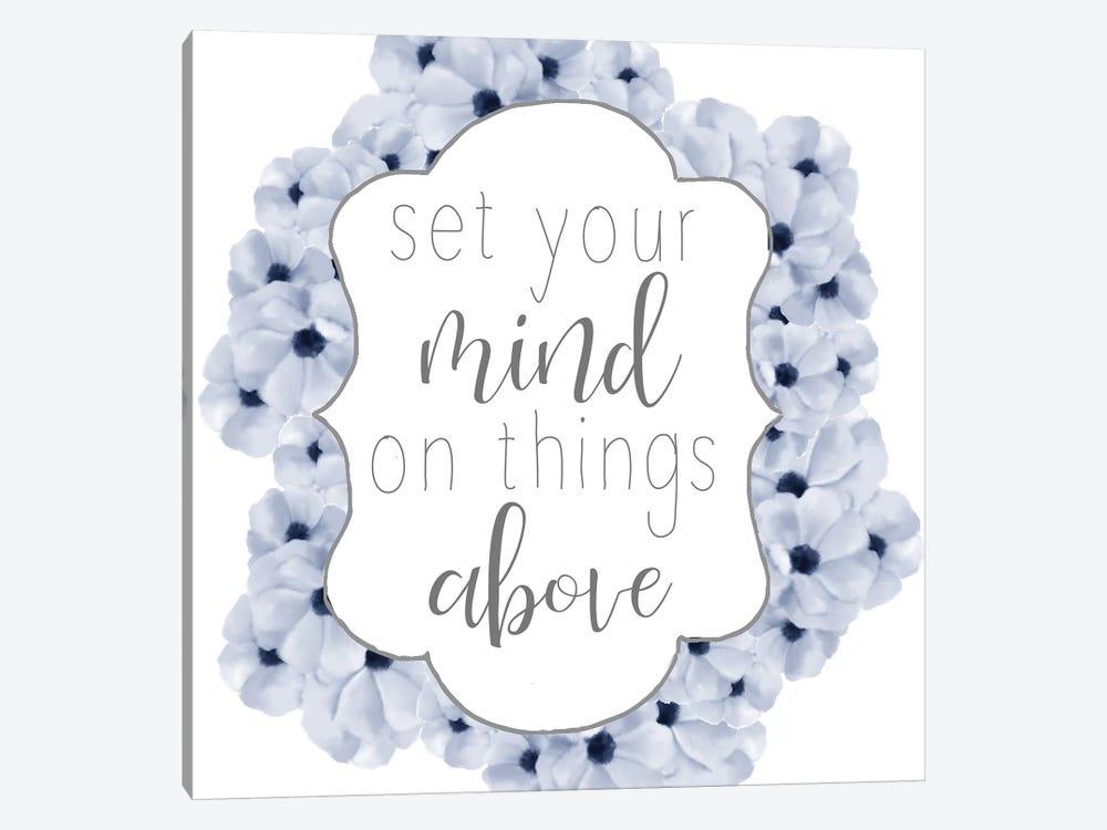 Set Your Mind by Ann Bailey 1-piece Canvas Print