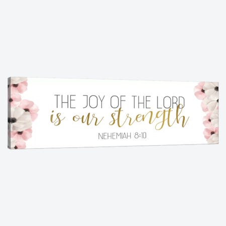 The Joy Canvas Print #ABL17} by Ann Bailey Canvas Art