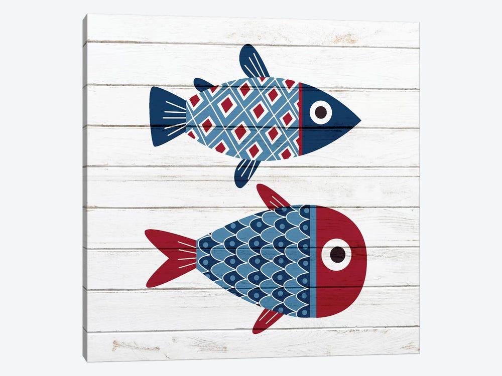 Americana Fish III by Ann Bailey 1-piece Art Print