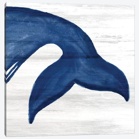 Whale Tails III Canvas Print #ABL30} by Ann Bailey Art Print