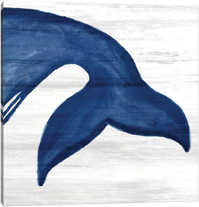 Whale Tails III Canvas Art Print