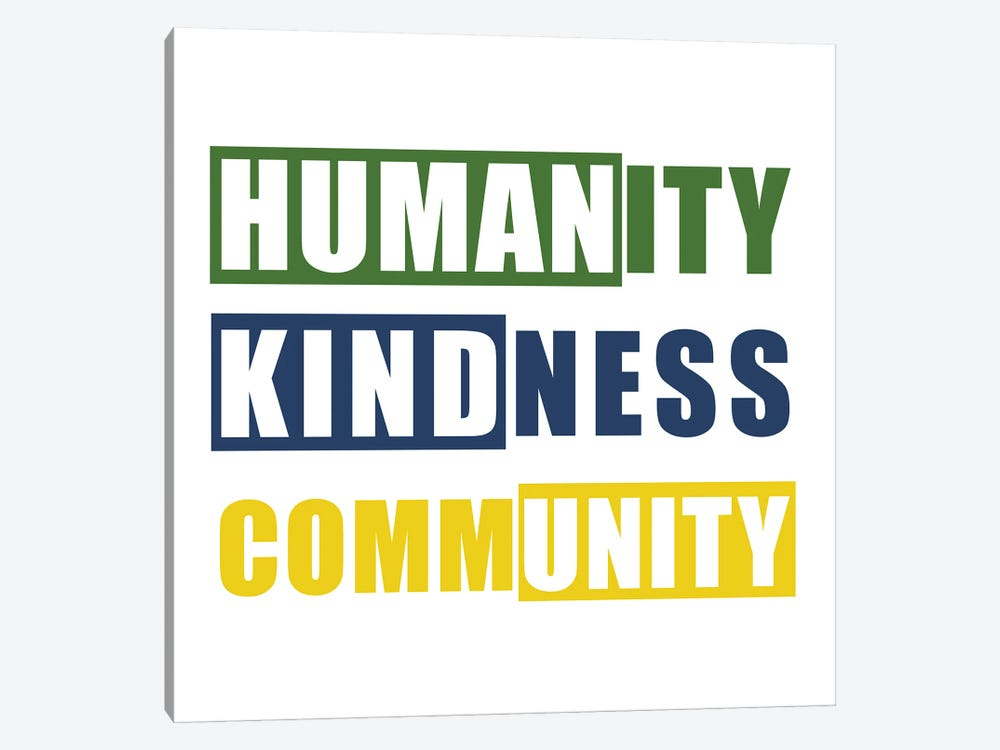 Humanity by Ann Bailey 1-piece Canvas Wall Art