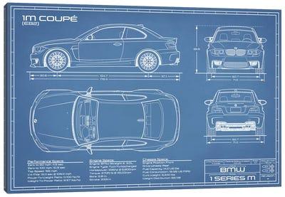 BMW 1M Coupe (F82) | Blueprint Canvas Art Print