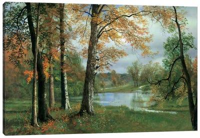 A Quiet Pond Canvas Art Print
