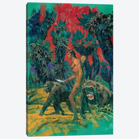Tarzan & The Mad Men Cover Canvas Print #ABT1} by Robert Abbett Canvas Print