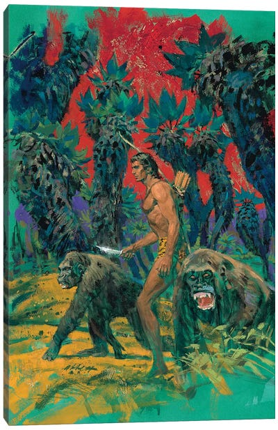 Tarzan & The Mad Men Cover Canvas Art Print
