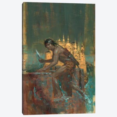 Tarzan City Of Gold Canvas Print #ABT2} by Robert Abbett Canvas Art Print