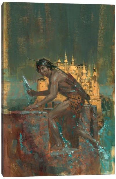 Tarzan City Of Gold Canvas Art Print