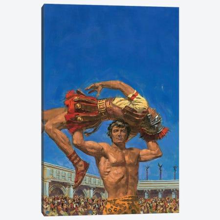 Tarzan Lost Empire Canvas Print #ABT3} by Robert Abbett Canvas Art Print