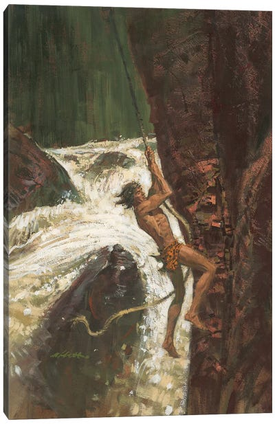 Tarzan The Terrible Canvas Art Print