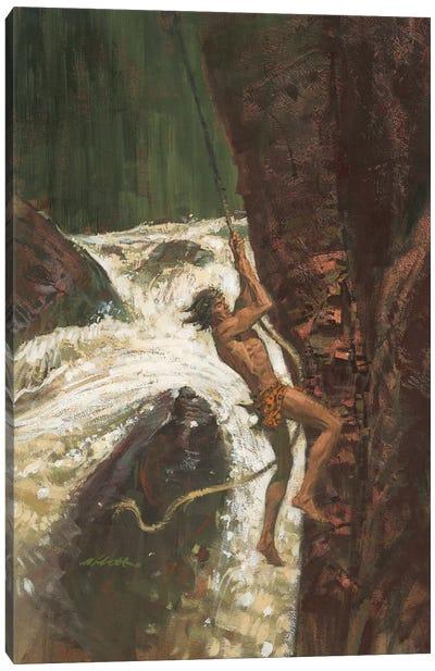 Tarzan The Terrible Canvas Art Print