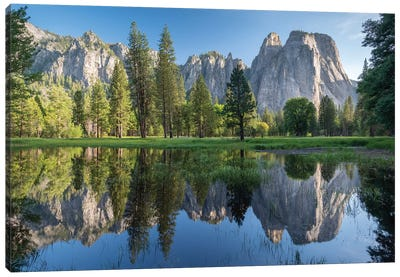 Cathedral Spires, Yosemite Canvas Art Print