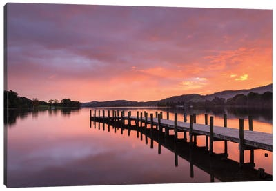 Sunset Jetty Canvas Art Print
