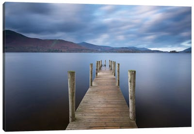 Derwentwater Jetty Canvas Art Print
