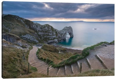 Durdle Door by Adam Burton Canvas Art Print