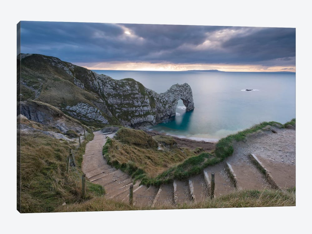 Durdle Door by Adam Burton 1-piece Canvas Wall Art ... & Durdle Door Canvas Artwork by Adam Burton | iCanvas