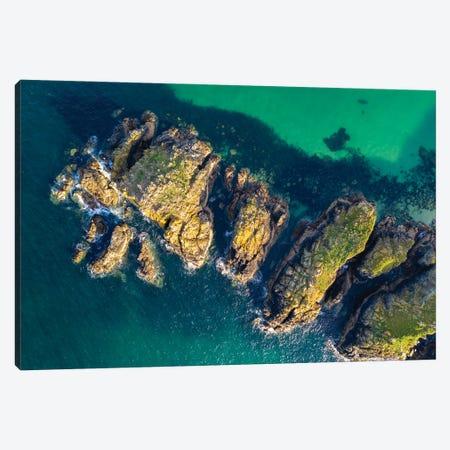 Cornwall From Above Canvas Print #ABU152} by Adam Burton Canvas Print