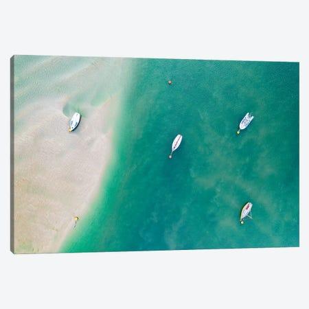 Stranded Canvas Print #ABU155} by Adam Burton Canvas Art