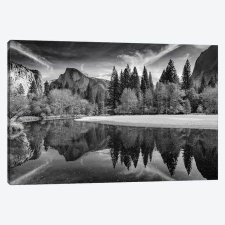 Half Dome Reflections, Yosemite Canvas Print #ABU167} by Adam Burton Canvas Print
