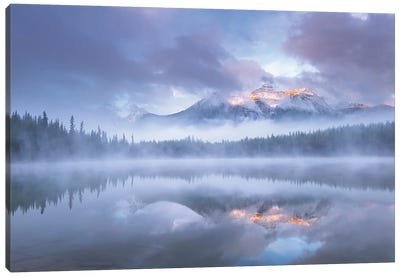 Realm Of The Rockies Canvas Art Print