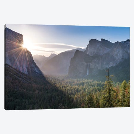 Good Morning Yosemite Canvas Print #ABU175} by Adam Burton Canvas Wall Art