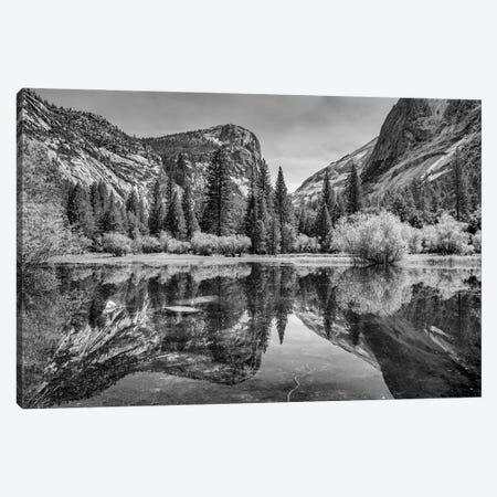 Mirror Lake, Yosemite Canvas Print #ABU176} by Adam Burton Canvas Art