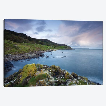 Fair Head Blues Canvas Print #ABU17} by Adam Burton Canvas Art Print