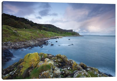 Fair Head Blues Canvas Art Print