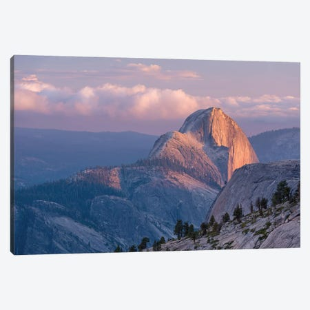 Half Dome Canvas Print #ABU21} by Adam Burton Canvas Art Print