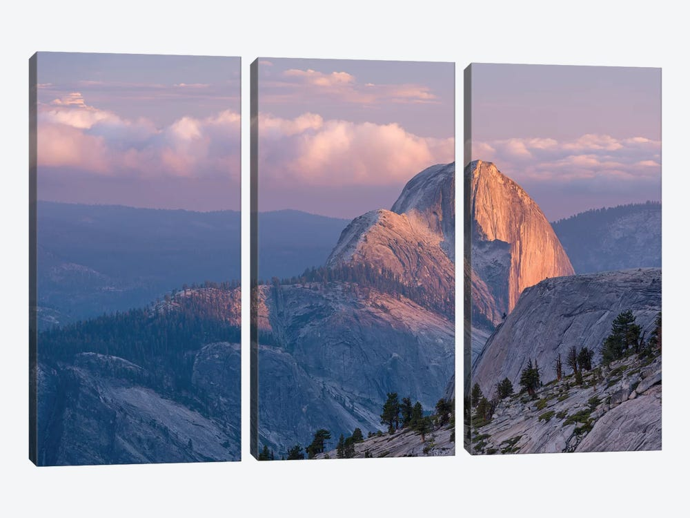 Half Dome by Adam Burton 3-piece Canvas Wall Art
