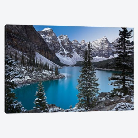Jewel of the Rockies Canvas Print #ABU25} by Adam Burton Canvas Wall Art