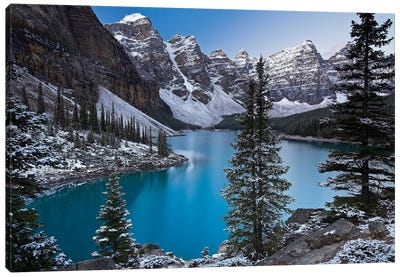 Jewel of the Rockies Canvas Art Print