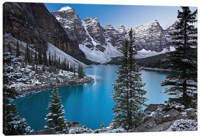 Jewel of the Rockies Canvas Art Print