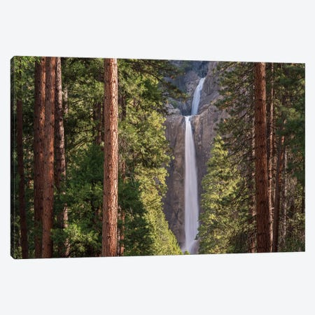 Lower Yosemite Falls Canvas Print #ABU26} by Adam Burton Canvas Wall Art