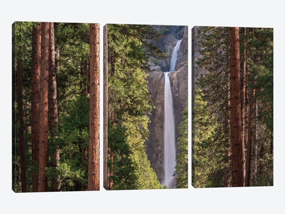 Lower Yosemite Falls 3-piece Art Print