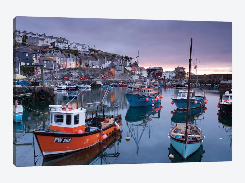 Mevagissey Moods by Adam Burton 1-piece Canvas Wall Art