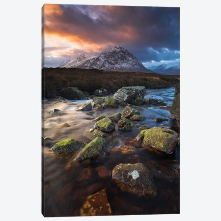 A Scottish Specialty Canvas Print #ABU2} by Adam Burton Canvas Artwork