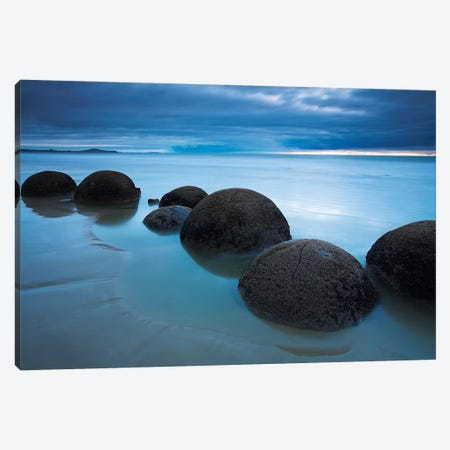 Orbs of Arai Te Uru Canvas Print #ABU32} by Adam Burton Canvas Wall Art