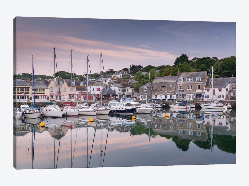 Padstow Harbour by Adam Burton 1-piece Art Print