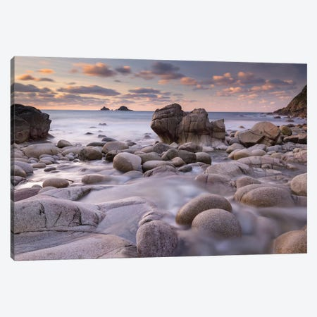 Porth Nanven Canvas Print #ABU35} by Adam Burton Canvas Print