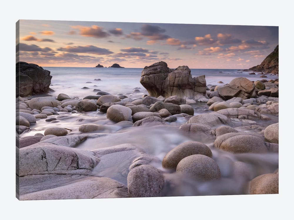 Porth Nanven by Adam Burton 1-piece Canvas Print