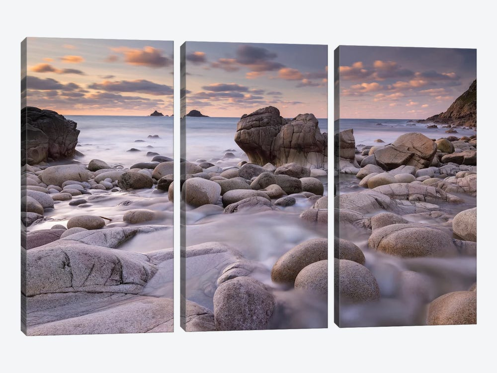Porth Nanven by Adam Burton 3-piece Canvas Art Print