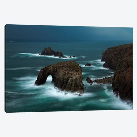 Rock of Ages Canvas Print #ABU38} by Adam Burton Canvas Wall Art