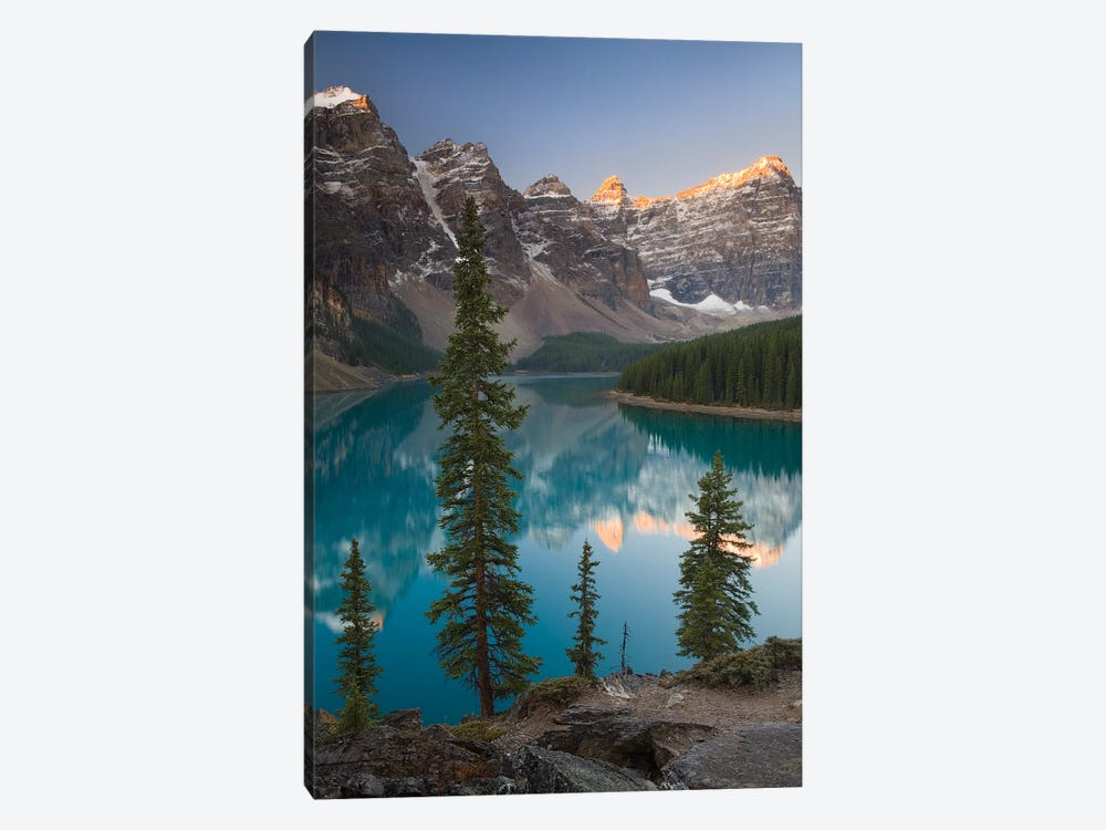 Sentries of Moraine Lake 1-piece Art Print