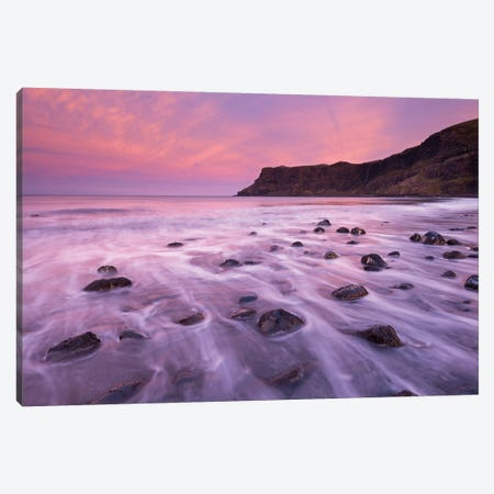 Talisker Bay Canvas Print #ABU41} by Adam Burton Canvas Print