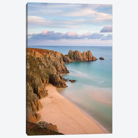 The Beach Canvas Print #ABU43} by Adam Burton Canvas Print