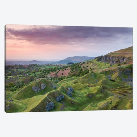 The Escarpment Canvas Print #ABU45} by Adam Burton Canvas Wall Art